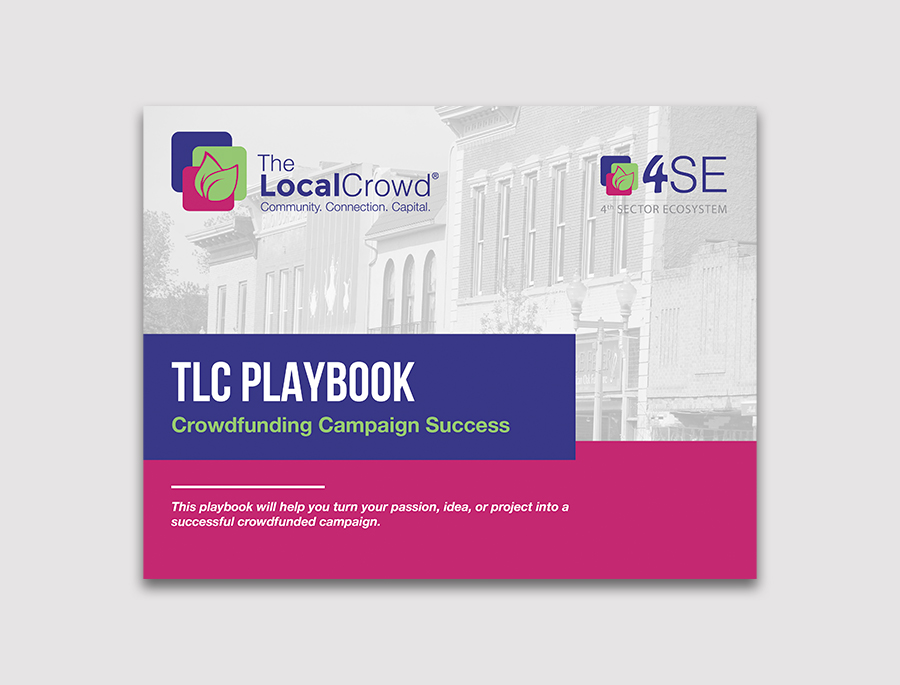 book cover design for the TLC Playbook