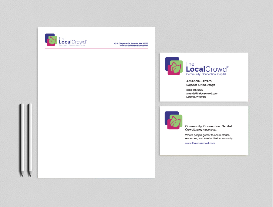print design examples for The Local Crowd