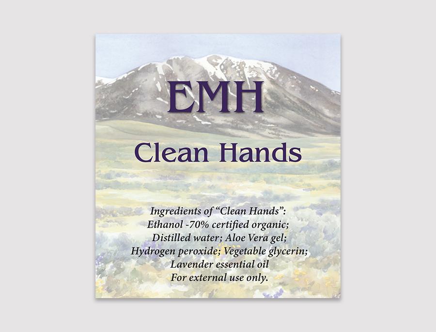 label design for Elk Mountain Herbs